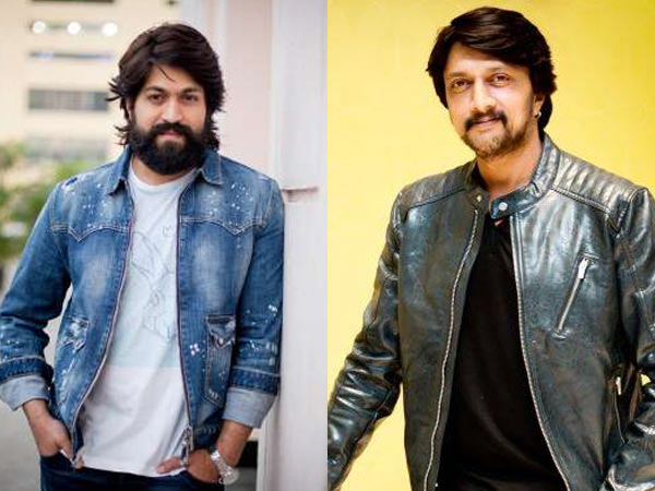 Yash To Be Part Of Sudeeps Film!
