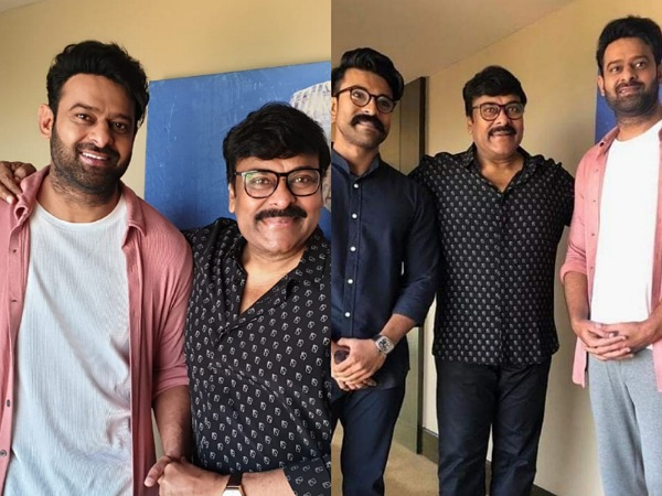 Exclusive: These Rare Photos Of Prabhas, Chiranjeevi And Ram Charan Are Too Good To Be Missed