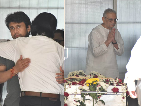 Khayyam Funeral: Sonu Nigam, Gulzar & Others Bid Adieu To The Legendary Music Composer