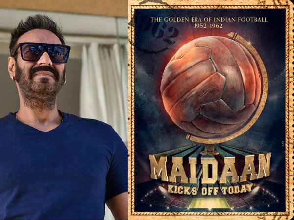 Maidaan: Ajay Devgn's Biopic On Football Coach Syed Abdul Rahim Gets A Title; Film Goes On Floors!