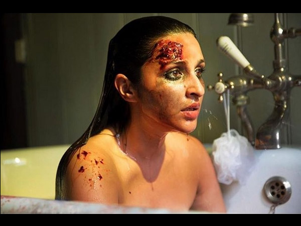 'The Girl On The Train' First Look: A Bruised Parineeti Chopra In A Bath Tub Adds More To Mystery!
