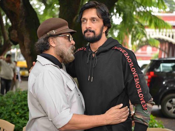 Exclusive Inside Pics From Sudeep & Ravichandran Film Ravi Bopanna! Kiccha Turns Lawyer
