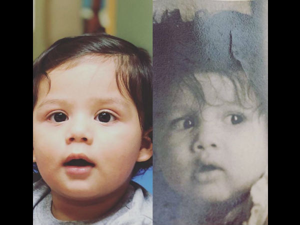 Shahid Kapoor Shares A Collage Of Zain & His Own Baby Pic; You Won't Be Able To Tell Who's Who!