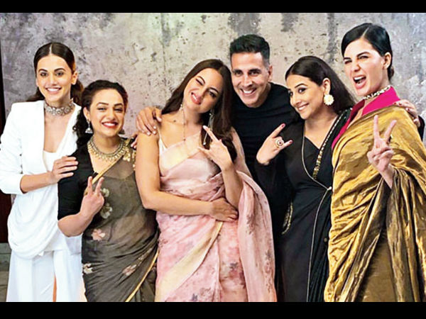 Taapsee Pannu On Mission Mangal's Success: We Women Gave Akshay Kumar His Biggest Opener!