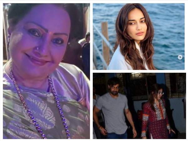 Vidya Sinha's Demise: Surbhi Jyoti & Rajan Express Grief; Mohit, Anjali & Others Attend Funeral