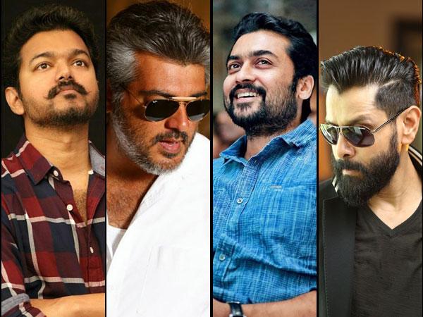 Vijay, Ajith Kumar, Vikram and Suriya Movies To Get Into A Supreme Box Office Clash?