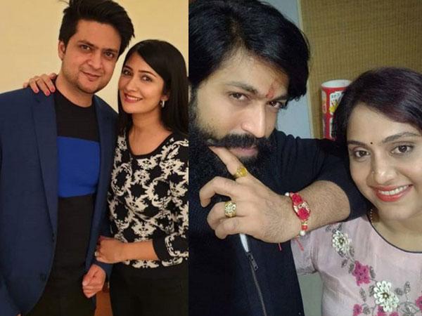 Yash & Radhika Pandit Celebrate Raksha Bandhan With Their Respective Siblings! Share Cute Pics