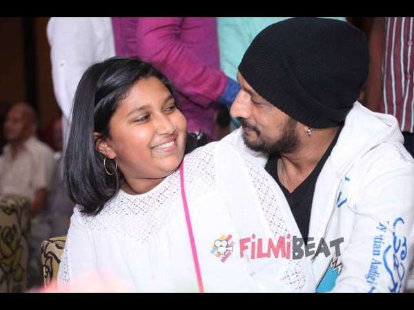Sudeep Has The Sweetest Message For Daughters Day! Asks Fans To Share Their Favorite Pics
