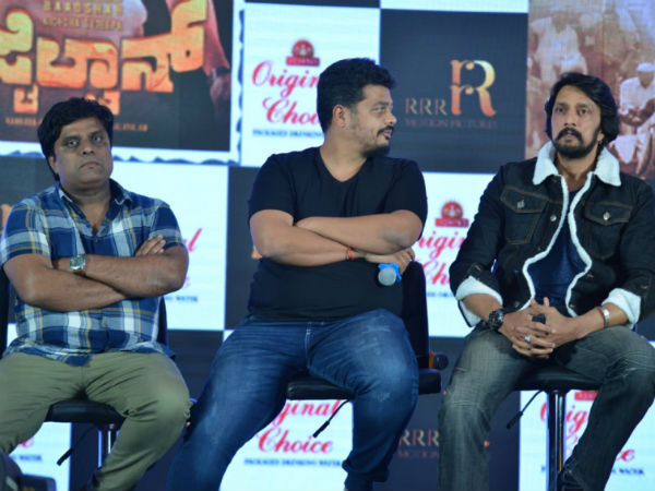 Sudeep Roped In For A Rs 300 Crore Budget Film!