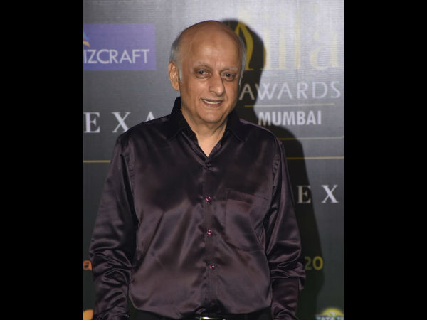 Mukesh Bhatt Arrives..