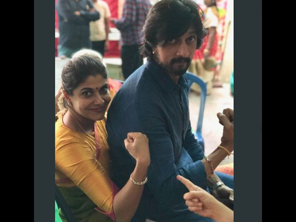 Sudeeps Wife Wishes She Played His Bride In Pailwaan