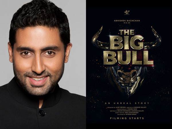 Abhishek Bachchan Announces Next - The Big Bull; To Be Produced By Ajay Devgn