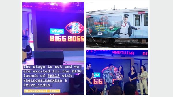 Bigg Boss 13 Launch: Salman Khan Arrives In Mumbai Metro; Arjun, Amisha Patel & Others Join Him