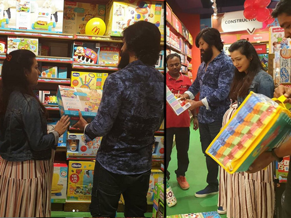 Yash & Radhika Pandit Head Out To Shop Toys For Ayra; Actress Says Life Has Changed As A Parent!