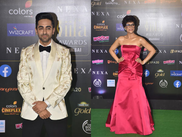 Ayushmann & Tahira On The Green Carpet