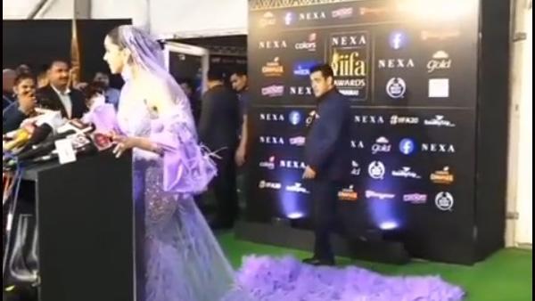 Salman Khan's HILARIOUS Reaction To Deepika Padukone's IIFA Outfit Caught On Camera!