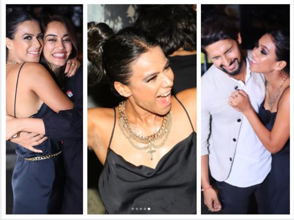 Nia Sharma Dances Like There's No Tomorrow; Ravi Dubey, Surbhi & Others Attend Her Birthday Bash