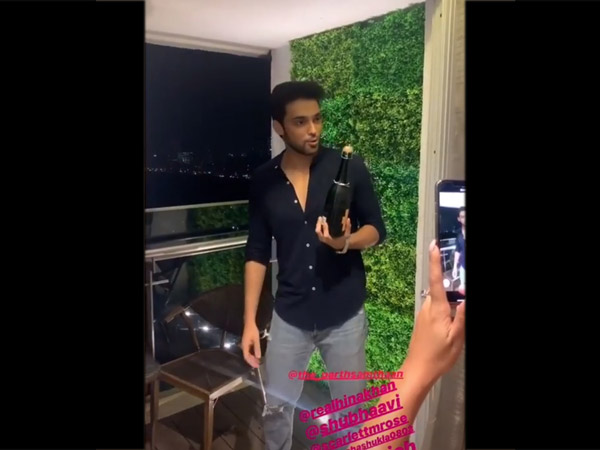 Parth Samthaan's House Warming Party