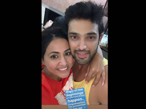 Such A Cute Picture Of Hina & Parth