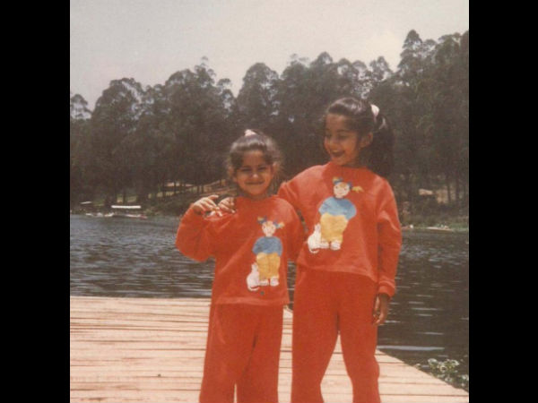 The Zoya Factor's Sonam Kapoor Was A Lucky Charm In Red Even As A Kid; Shares Cute Throwback Pic!