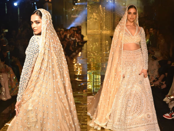 Deepika Padukone Is ETHEREAL On The Ramp As She Walks For Abu Jani And Sandeep Khosla!