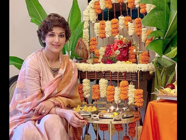 Sonali Bendre Upset Over Pollution Caused By Ganesh Chaturthi Celebrations