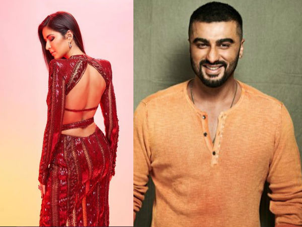 Arjun Kapoor Describes Katrina Kaif's Backless Maroon Gown In An Epic Way!