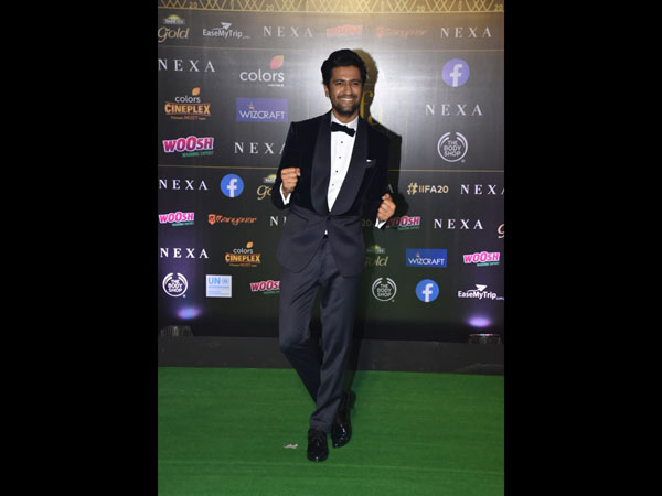 Vicky Kaushal Is All Smiles