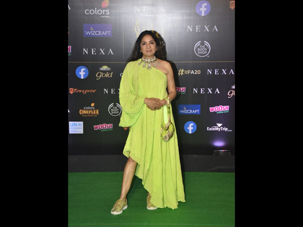 Neena Gupta Stuns In Neon Green