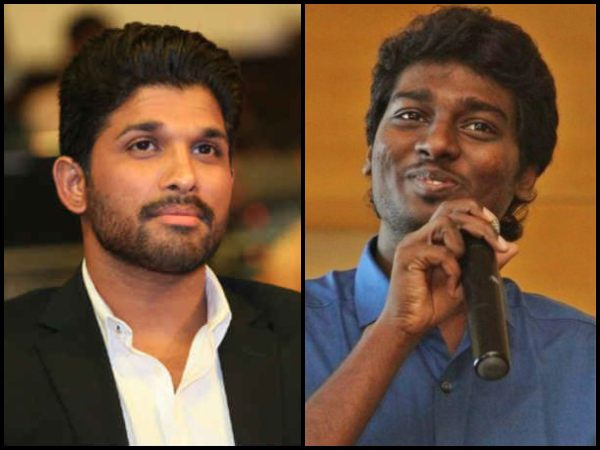 Allu Arjun Met Director Atlee To Discuss An Upcoming Movie?