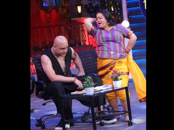 Krushna Thanks Bharti For His Patch-up With Kapil