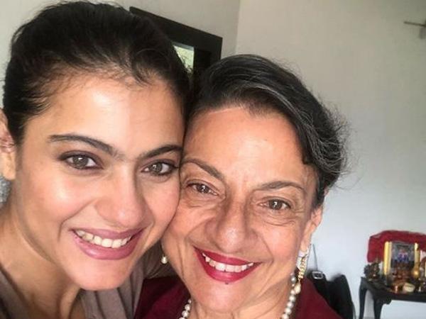 Kajol Shares A Heartfelt Video On Mom Tanuja's 75th Birthday
