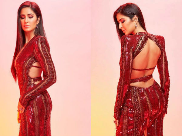 IIFA Rocks 2019: Katrina Kaif Flaunts Her Chiselled Back; Vicky Kaushal's Hot Look Steals Our Hearts