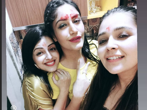 Surbhi's Ishqbaaz Co-stars Surprise Her