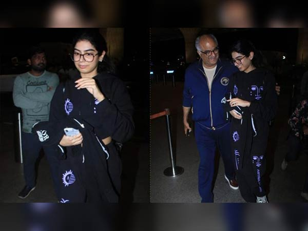 Khushi Kapoor Leaves To U.S. To Study Boney Kapoor Sees Her Off With Irrepressible Emotions