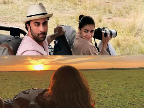 PICTURE: Alia & Ranbir Enjoy The Wilderness In Kenya!