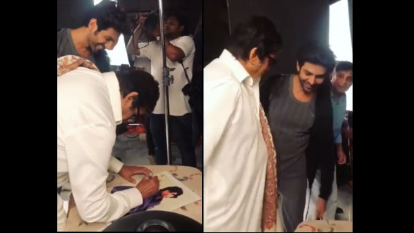 Watch: Kartik Aaryan's Fanboy Moment With Amitabh Bachchan While Getting An Autograph
