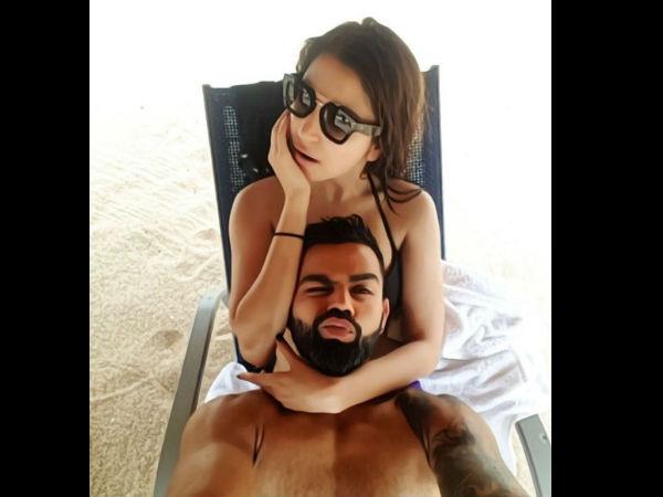 Anushka Sharma & Virat Kohli's Beach Picture Turns Into Hilarious Memes!