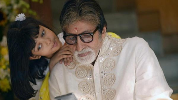 The Superstar Also Shared A Few Snaps With His Granddaughter Aaradhya