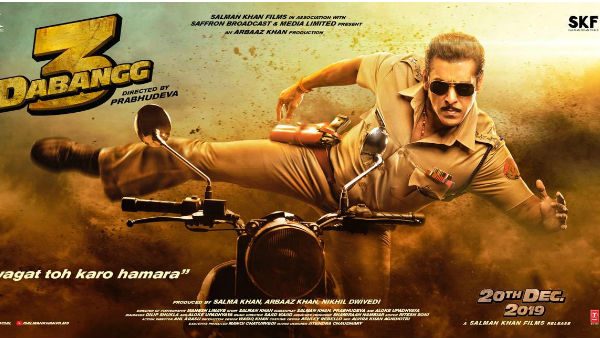 Dabangg 3 Trailer Out!