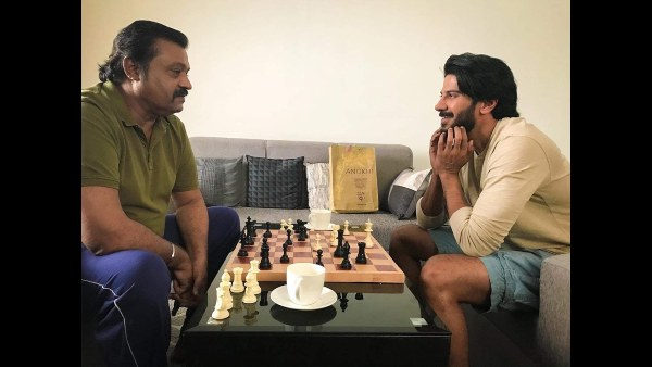 Dulquer Salmaan And Suresh Gopi In A Single Frame; Fans Can't Contain The Excitement!