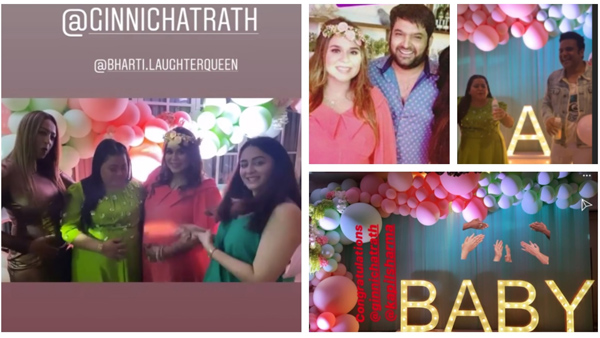 Kapil Sharma's Wife Ginni Chatrath's Baby Shower: Bharti, Krushna, Kiku & Others Have Fun