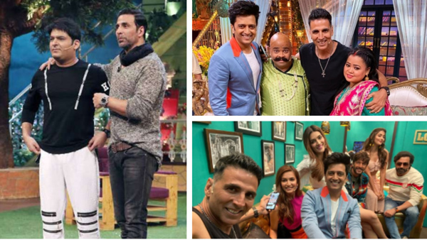 Kapil Changes TKSS' Shoot Timings For Akshay Kumar