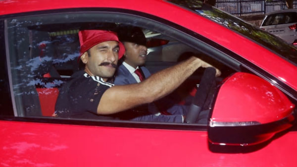 The Cost Of Ranveer's Car Is Worth A Bomb