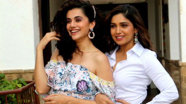 Taapsee Pannu & Bhumi Pednekar Shut Up A Troll Trying To Create A Tiff Between Them & Akshay Kumar