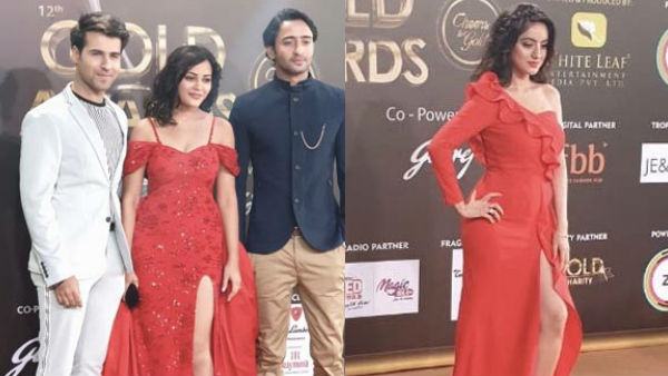 Gold Awards 2019 Red Carpet Pictures Deepika Singh Shaheer Sheikh Kaveri Priyam Others Arrive