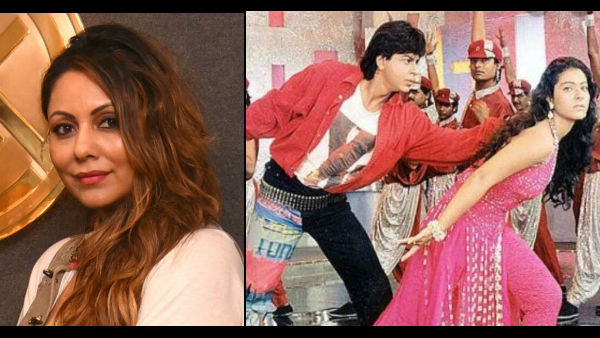 Gauri Khan Designed Shah Rukh Khan's Jeans In Baazigar; SRK Says Those Jeans 'Were A Riot'!