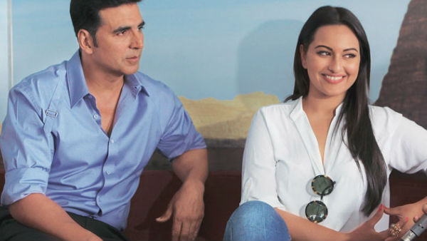 I Like Heroines Who Are Hari Bhari: Akshay Kumar Gets Slammed For Objectification; Sonakshi Reacts