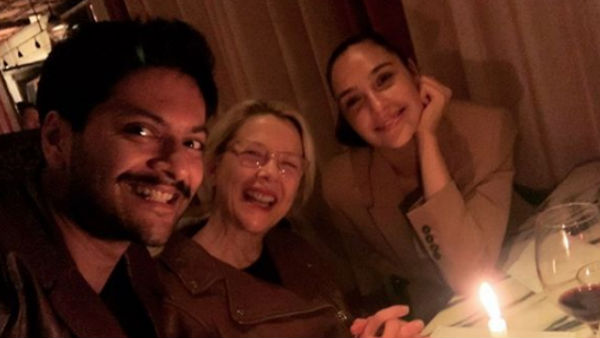 Picture: Ali Fazal Celebrates Birthday With 'Death On The Nile' Co-Stars Gal Gadot & Annette Bening