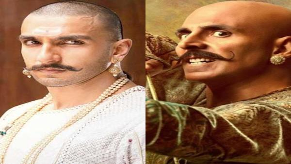 Akshay Kumar On Comparing His Bald Look In Housefull 4 With Ranveer Singh In Bajirao Mastani